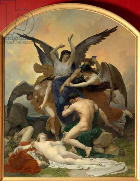 The remorse, 1875 (oil on canvas 3,76 x 2,95)