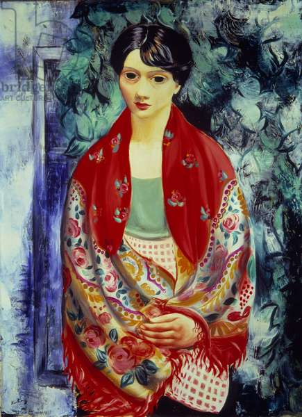 Polish Girl Painting by Moise Kisling (1891-1953) 20th century Paris, National Museum of Modern Art