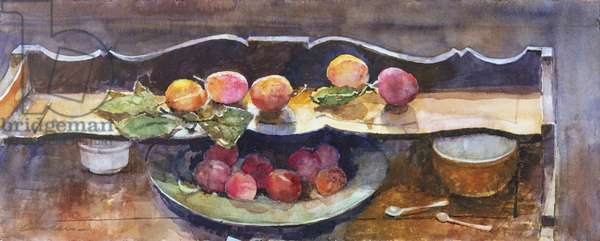 Plums & Pewter Plate