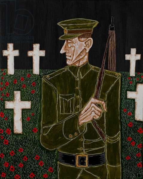 Ypres Resurrection, 2012 (acrylic on canvas)