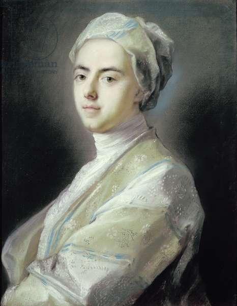Self Portrait (pastel on paper)