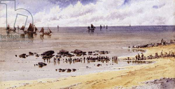At Hastings, 1892 (w/c on paper)