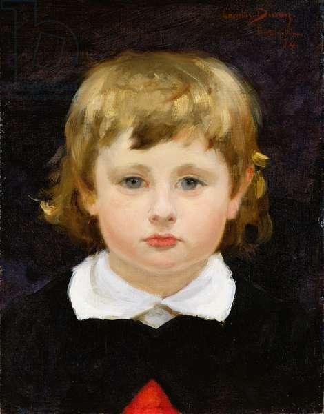 Portrait of Jules Marx, 1874 (oil on canvas)