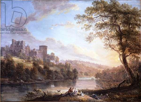 Bothwell Castle, Lanarkshire, 1795 (bodycolour on paper)