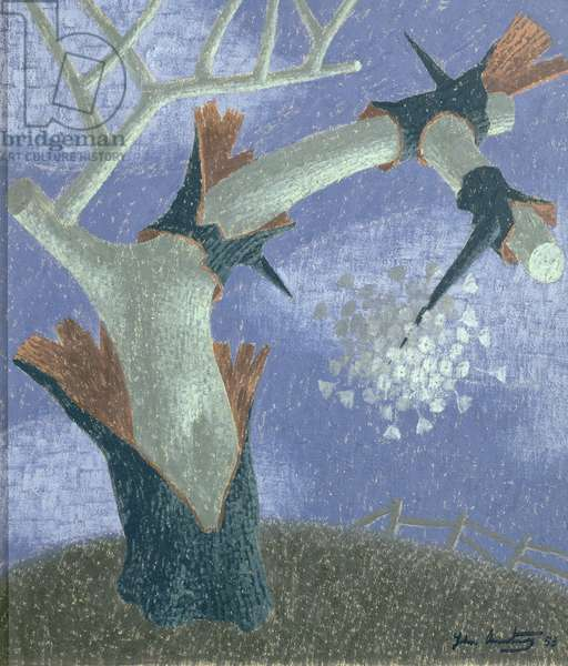 Thorn and Seed I, 1958 (oil on board)