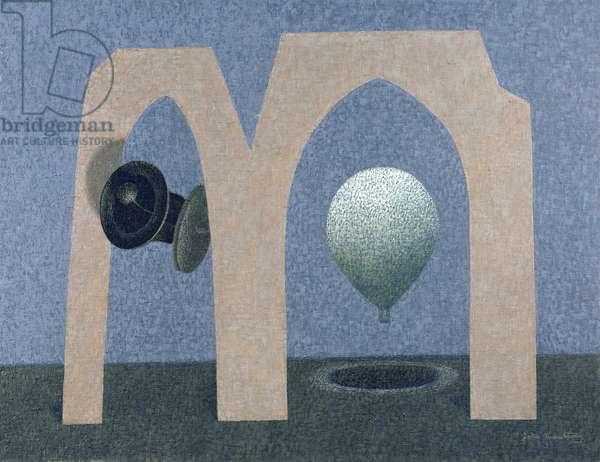 Departure, 1963 (oil on canvas)
