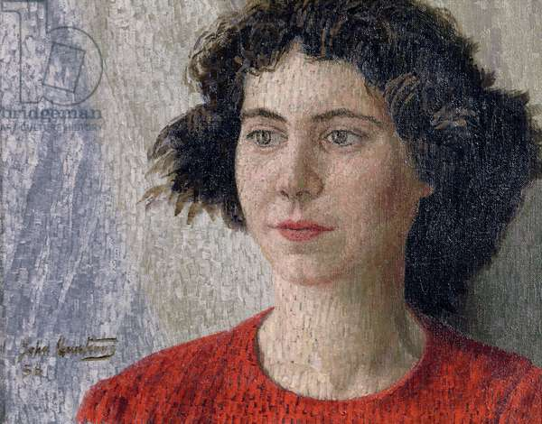 Annette, 1956 (oil on canvas)