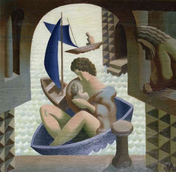The Arrival of Danae, 1928/29 (oil on canvas)