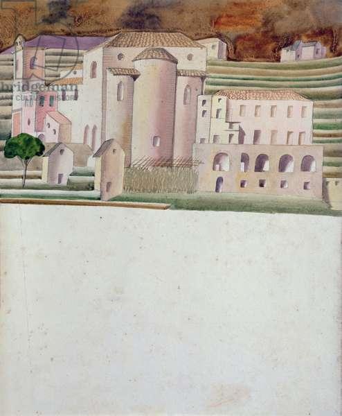 Ravello, c.1930 (w/c on paper)