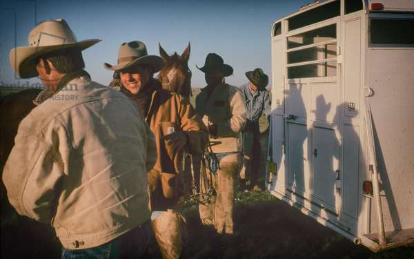 Ranch Hands on the Davies Ranch New, USA, 1999 (photo)