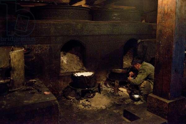 Monastery kitchen, Shangri la, China (photo)