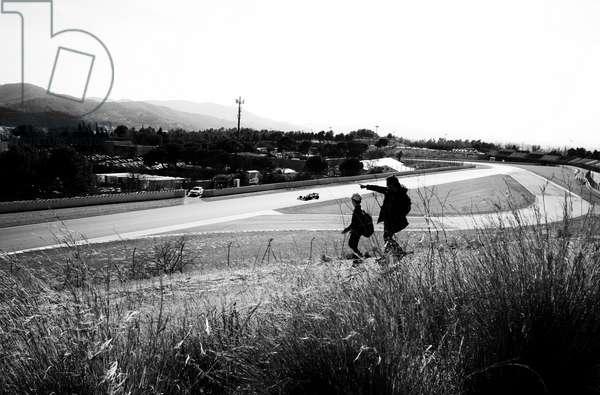 F1 testing, before Covid-19 struck, Barcelona, Spain, 2020 (photo)
