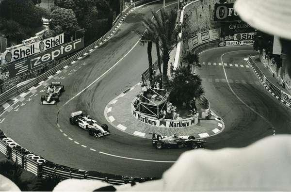 Monaco GP, 1997 (b/w photo)