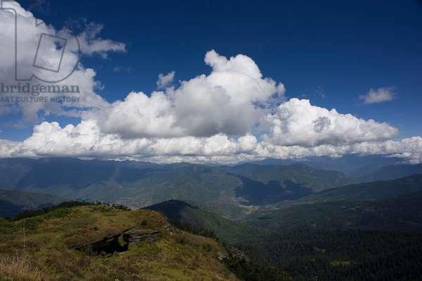 Mountain View, Bhutan (photo)