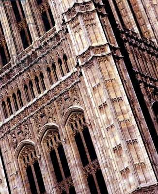 The Victoria Tower, detail (photo)