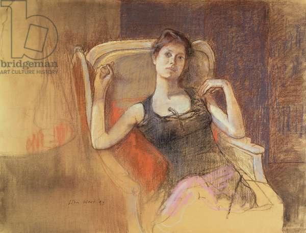 Gillian, 1993 (pastel)