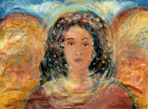 Italian Angel (fresco)