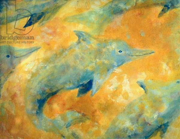 Dolphins (fresco)