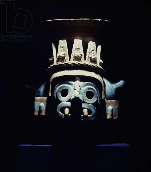 Brazier representing Tlacoc, Late Post Classic Period (ceramic)