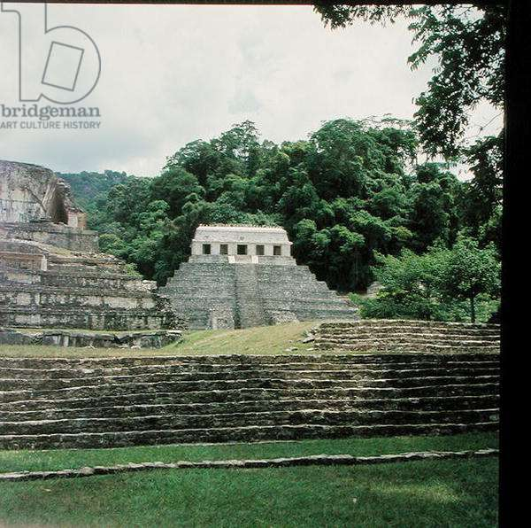 Temple of the Inscriptions, Late Classic Maya Period (photo)