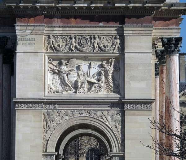 Arc de Triomphe du Carrousel, Paris (photo)