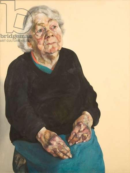 Frances Rose, 1973 (oil on canvas)