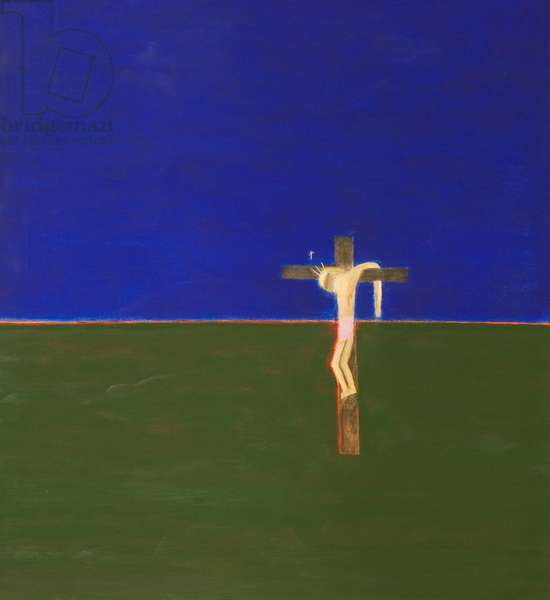 Crucifixion, 1994 (oil on canvas)
