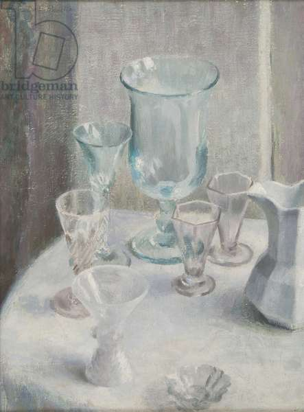 Glass, c.1935 (oil on canvas)
