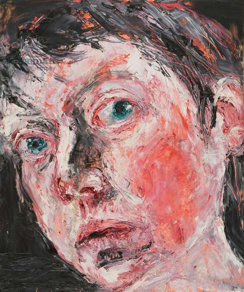 Head IV, 2004 (oil on gesso-prepared board)