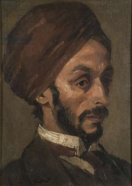 Portrait of an Afghan Gentleman, c.1895 (oil on canvas)