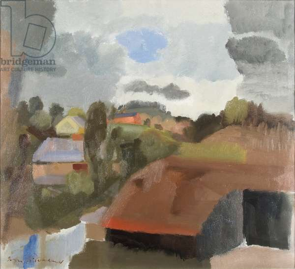 A Shropshire Landscape, c.1931 (oil on canvas)