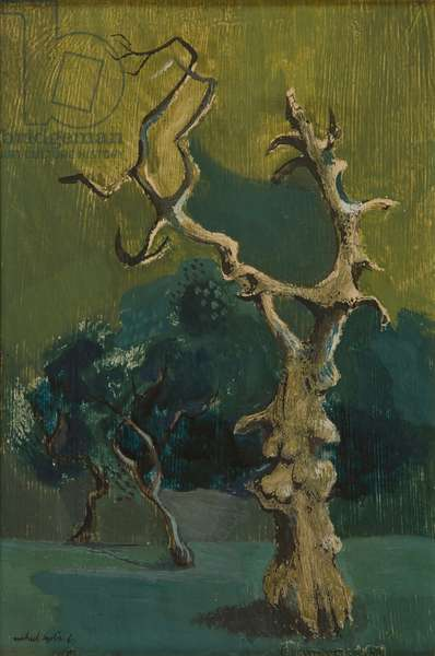 Susannah and the Elders, 1947 (oil on panel)