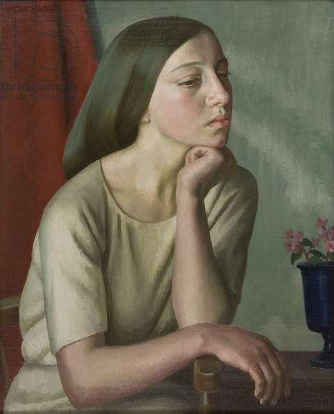 Lilian, 1923 (oil on canvas)