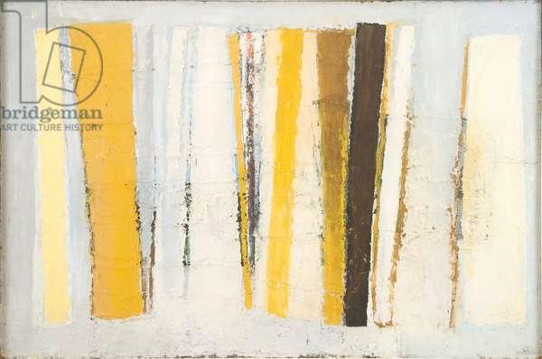 Chrome & Lemon, 1958 (oil on board)