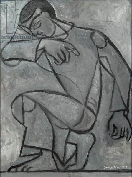 The Dancer, 1951 (oil on canvas)