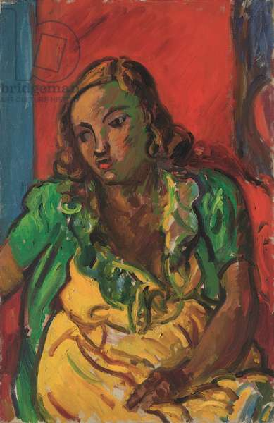 Simone, 1948 (oil on canvas)