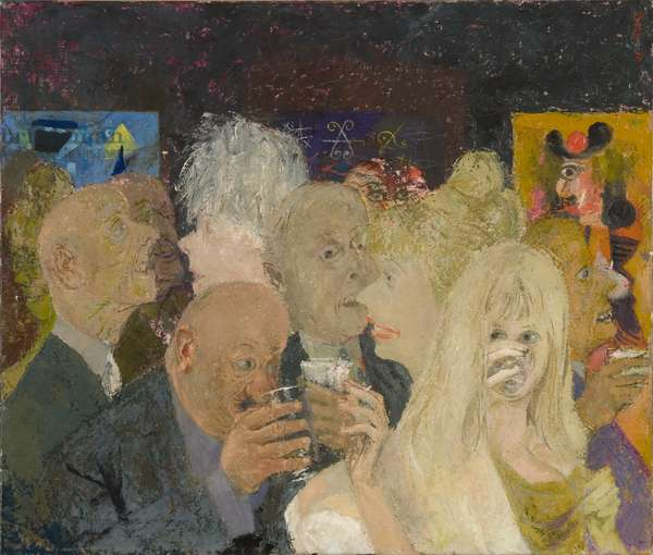 Private View, 1967 (oil on canvas)