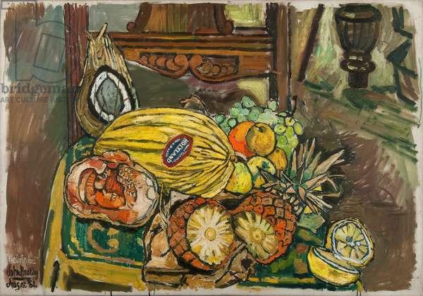 Holyland, 1961 (oil on canvas)