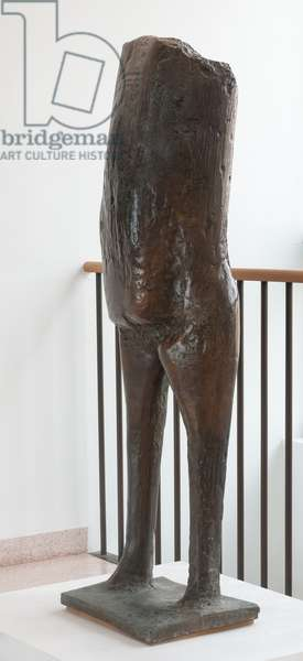 Standing Figure, 1985 (bronze with a brown patina)