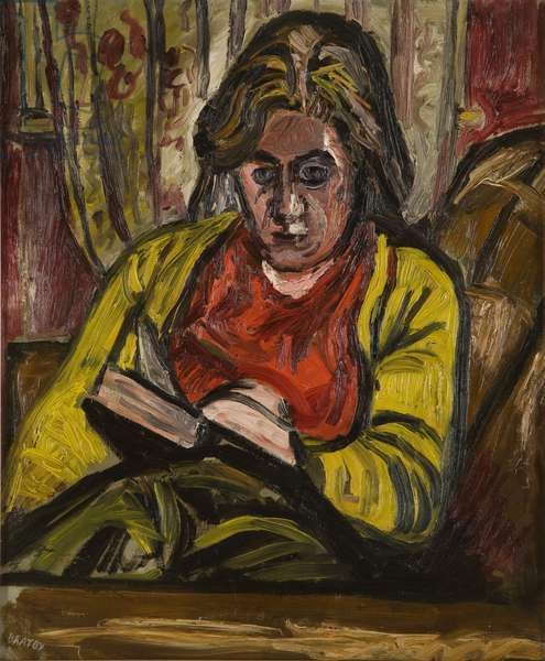 Jean Reading, c.1954 (oil on canvas)