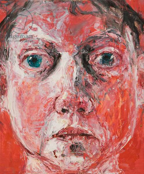 Head VI, 2004 (oil on gesso-prepared board)
