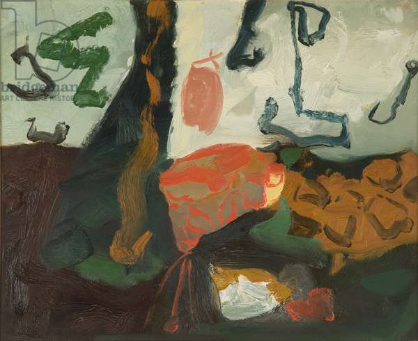 Generation - First Group - Dark Landscape, 1993 (oil on canvas)
