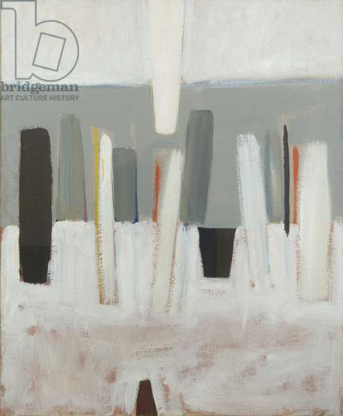 Grey Painting, December-January 1959, (oil on canvas)