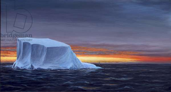 First Ice, 2005 (acrylic on board)