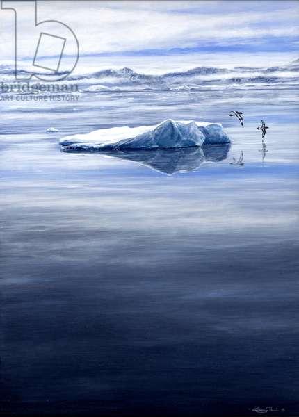 Tranquility - Pintado Petrels, 2005 (acrylic on board)