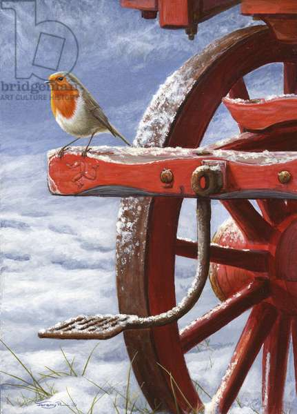 Carriage Step - Robin, 2005 (acrylic on board)