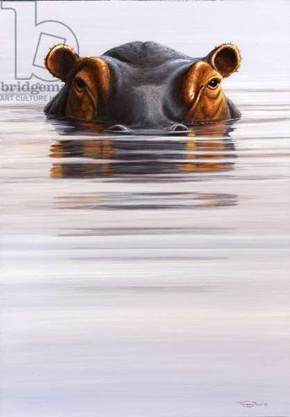 Come up and see me - Hippo, 2005 (acrylic on board)