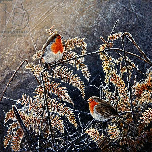 A Touch of Frost, 1996 (acrylic on board)