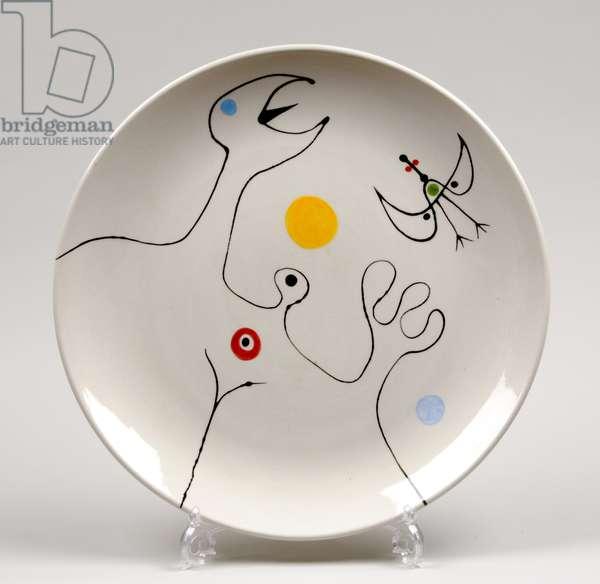 Decorated plate (ceramic)