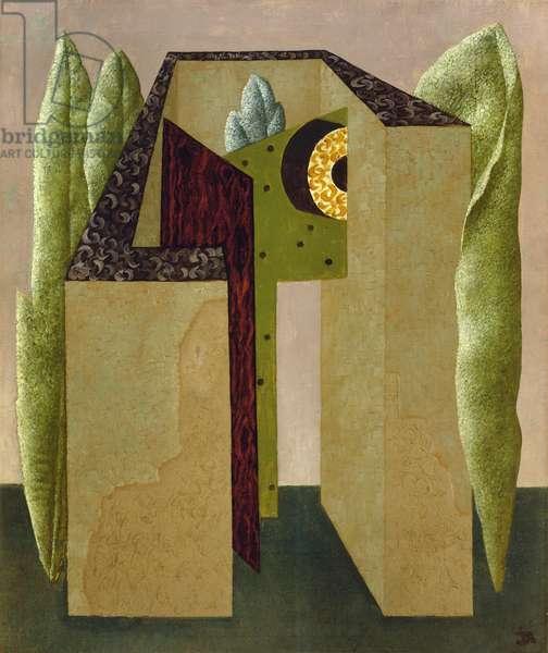 Unit One Composition, 1933 (oil on canvas)